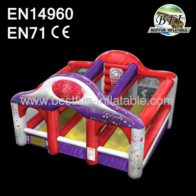 Outdoor Commercial Inflatable Triple Play