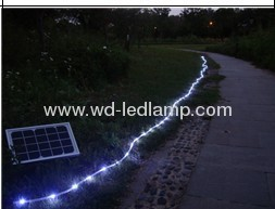 LED strip Lights With Solar Energy