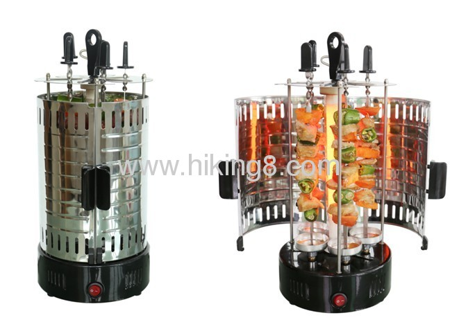 electric multi cooker vertical BBQ grill