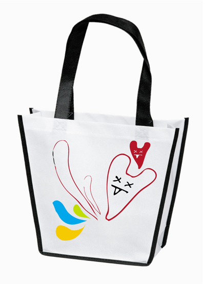 New arrival shopping bag with non woven materialN1023