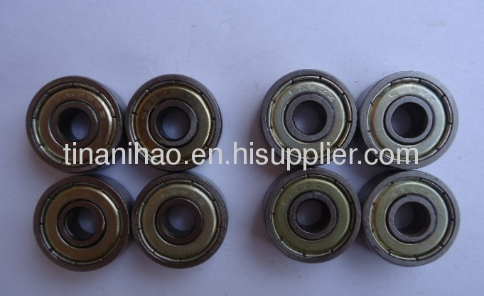 608 miniature deep groove ball bearing for injection moulding machine