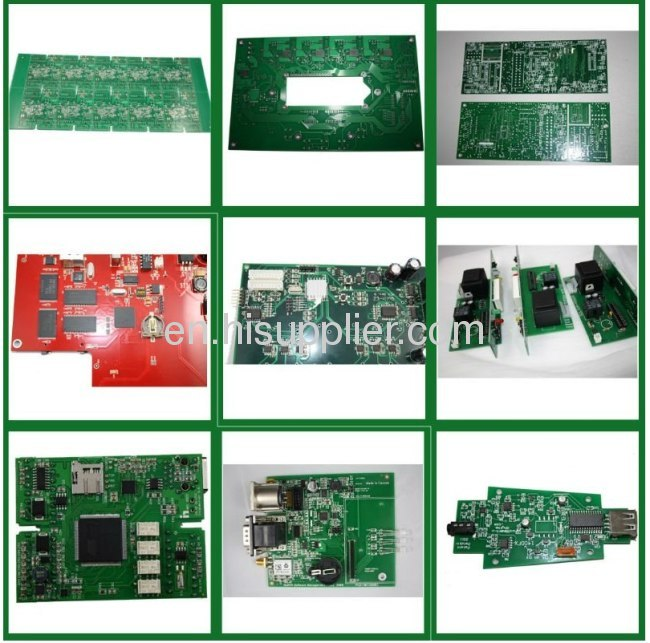 Polular 1~18 layer multulayer FR4 PCB tv motherboard