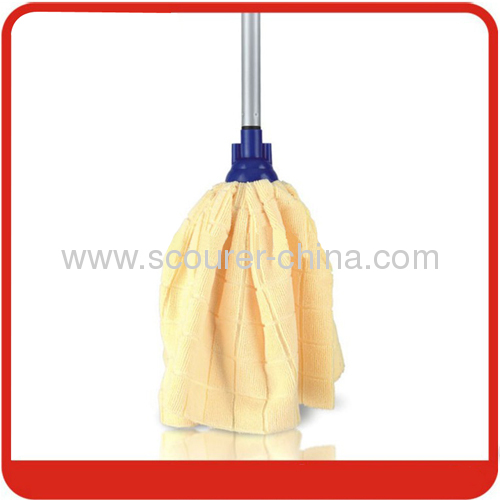 Unextensible Microfiber Water Mop with fixed steel handle