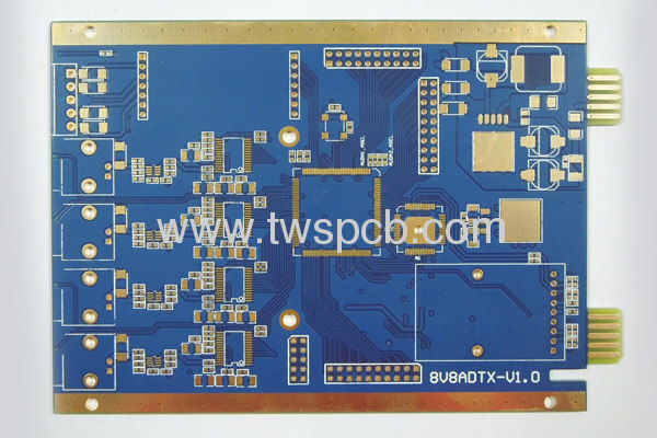 Round LED lighting pcb manufacturer