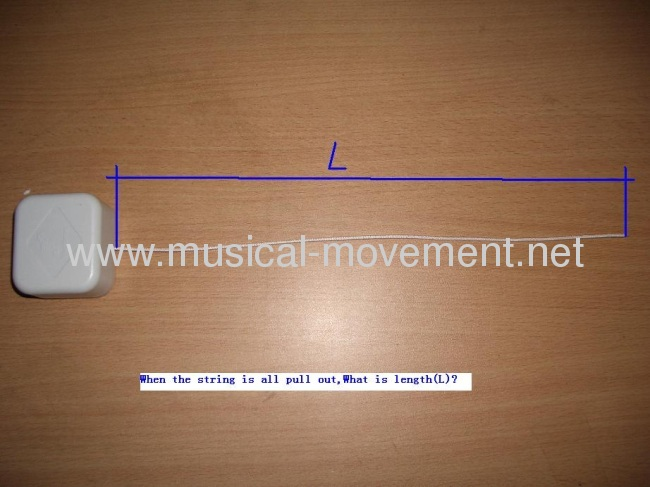 Pull String Musical Movement