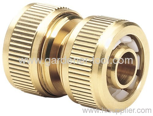 "5/8"" Brass Water Hose Mender To Repair Hose"