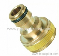 "Brass 1""female thread tap connector"