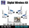 4channel 2.4GHZ digital wireless camera remote view