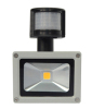 10W IP65 COB led Floodlight with PIR Sensor detector