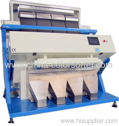 Long grain rice CCD color sorter