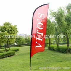Feather flag/ feather banner/ printed feather flags