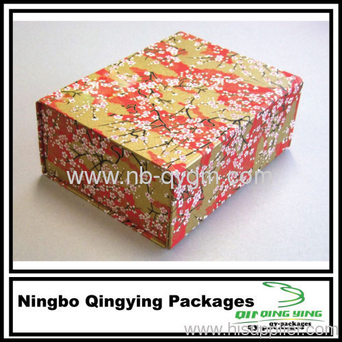Recycled Gift Wrapping Boxes
