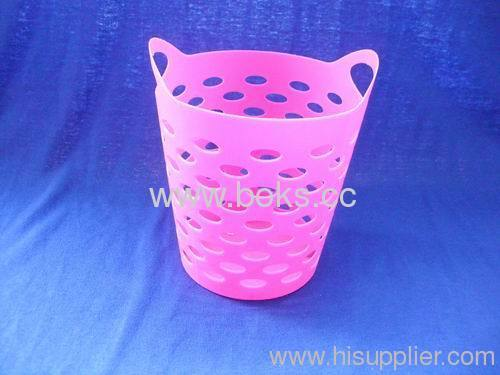 custom plastic mini laundry baskets