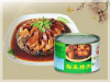 Pork with preserved vegetable(canned food)