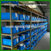 Electrical spare parts warehouse