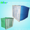 synthetic fiber air filter pocket