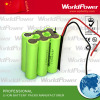 Patient monitor equipment battery pack 14.8v 4400mah li ion rechargeable18650 battery pack