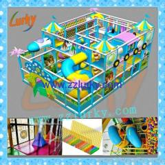 New design indoor playground/inflatable amusement park/soft play for selling