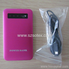 4000mAh protable Charger Bank for mobile phone and devices