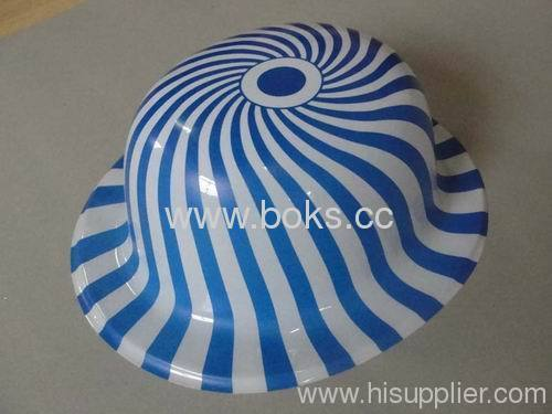 Plastic hat for good quality Smile party pvc hats