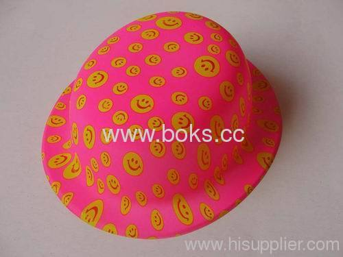 Plastic hat for good quality