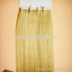Virgin Brazilian tape hair extension