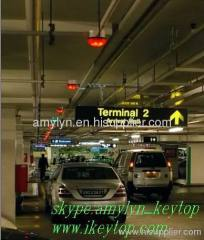 intelligent parking assist system to find vacant parking space