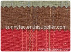 Jacquard Fabric 100% cotton Yarn-dyed Twill weave 55