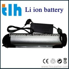 36V 9Ah electric bike lithium battery (bottle case)