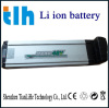 24v 10ah rechargeable li-ion electric bike battery pack (silver fish)