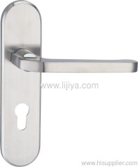zinc alloy door handle lock