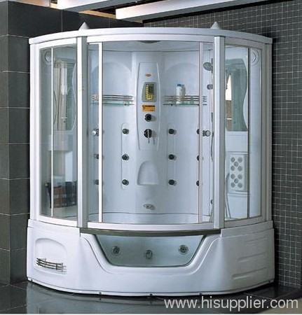 Luxury Steam Shower Room Spa Whirlpool