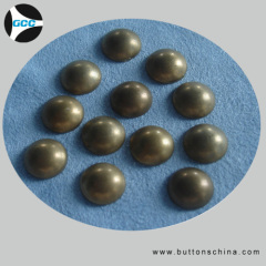 Dome metal hot fix studs production made in China manufactory