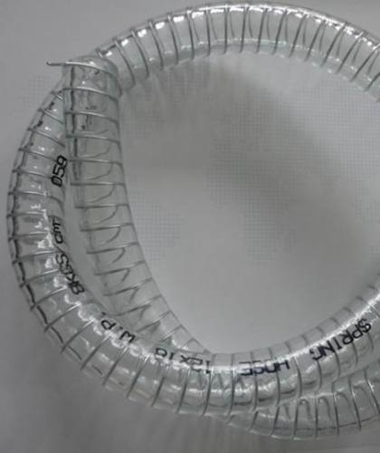 Wire Spiral Reinforced PVC Hose