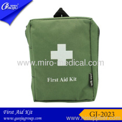 Army quality colorful Nylon material Travel First aid kits