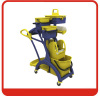 Mop cleaning bucket wringer trolley with Reinforced PP