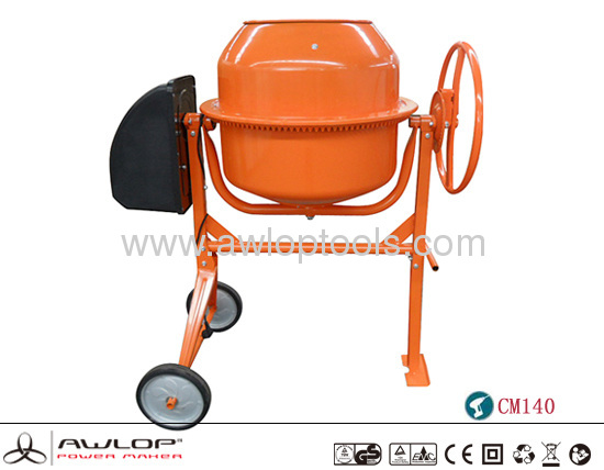 550W NEW ElECTRIC CEMENT CONCRETE MIXER MACHINE -CM140