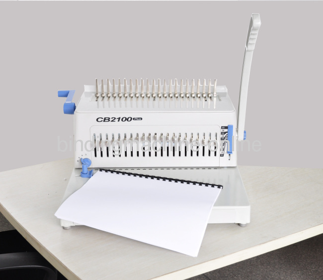 Desktop Plastic Ring Comb Binding Machine