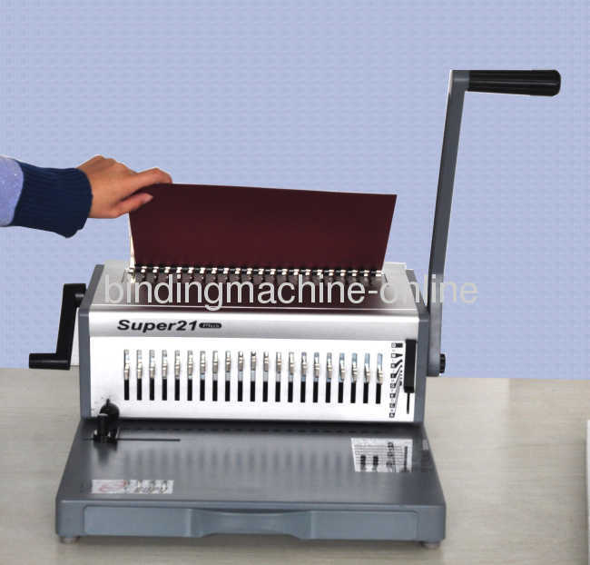 Selectable Punch Pins Comb Binding Machine