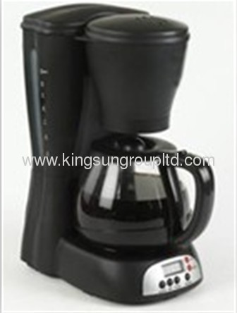 Double layer stainless steel drip coffee maker