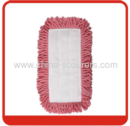 Magic flat Mop Refill with Pink+white colour