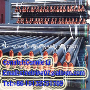 API CASING PIPE / Oil Steel Pipe / Round