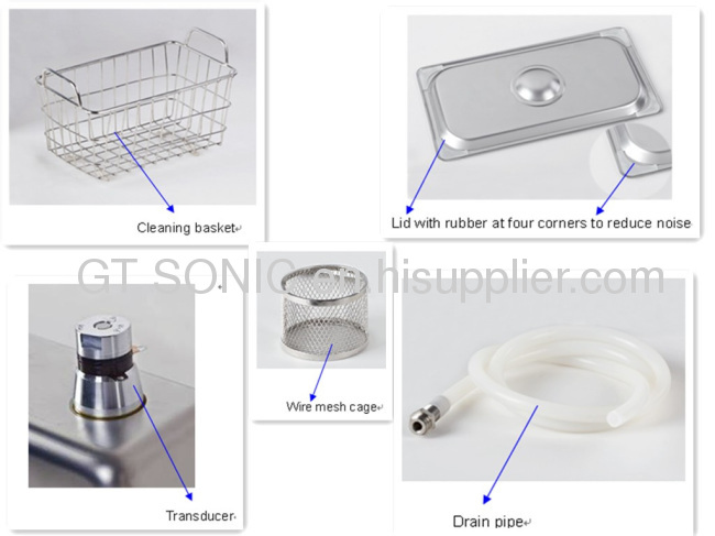 China GT SONIC ultrasonic 5L denture cleaner