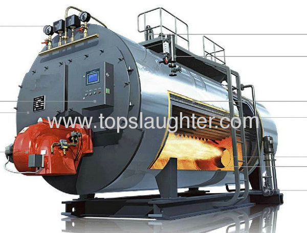Food processing equipment steam boiler