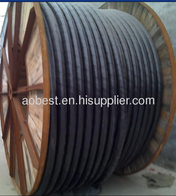 3.8/6KV power cable with steel wire armor