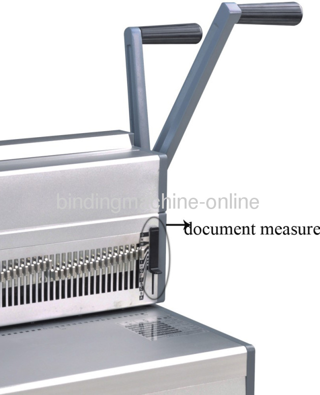 A3 Paper Size Manual Wire Binding Machine