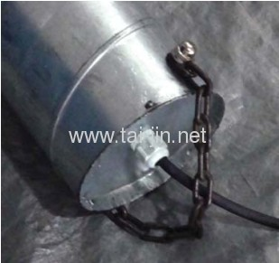 Titanium MMO canistered anode