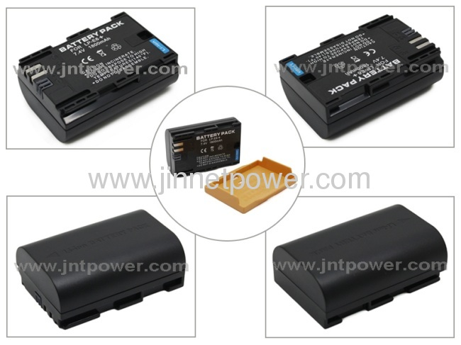 Best selling digital LP-E6 camera battery for Canon EOS 5D Mark II 7D 60D