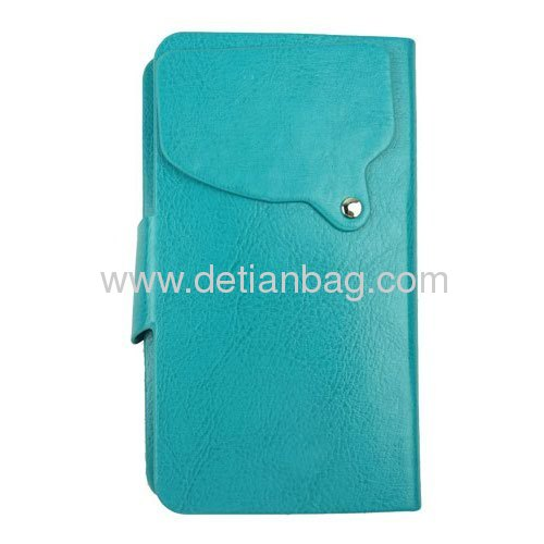 New arrival fashionable design PU leather universal case for samsung galaxy s iphone4s iphone5
