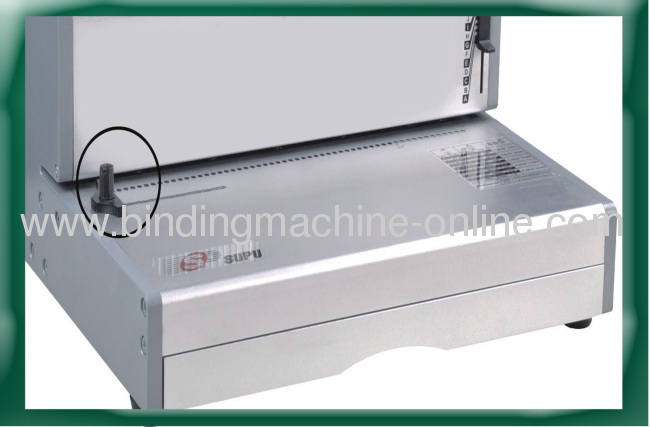 14 Inch Paper Size Electric Spiral Coil Binding Machine
